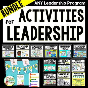 Leadership BUNDLE For Promoting Student Leaders - For All