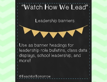 Leadership Banners