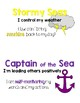 Leadership Behavior Clip Chart - Ocean Theme