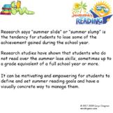 Leadership Binder Avoid Summer Reading Slump Data Tracking