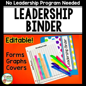 Data Binder for All Leadership Programs - EDITABLE