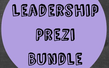 Leadership Bundle with Prezi