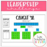 Leadership Character Challenge PBIS