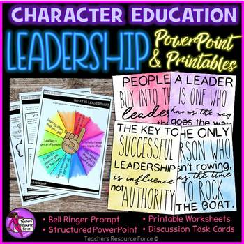 Leadership Character Education Values for Health Class