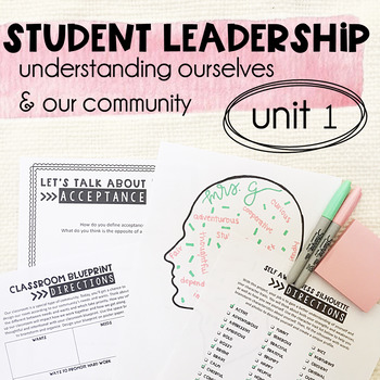 Leadership & Citizenship Unit 1 - Understanding Ourselves & Our Community