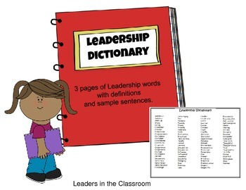 Leader Dictionary and Vocabulary