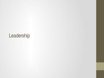 Leadership ESL Speaking Activity