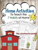 Leadership Family Information Handouts--Home Activities an