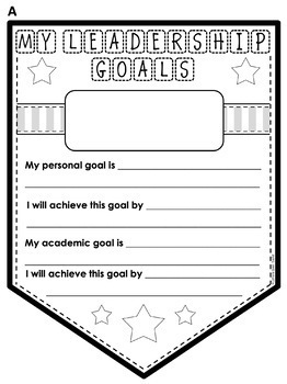 Leadership Goal Banners For All Leader Programs