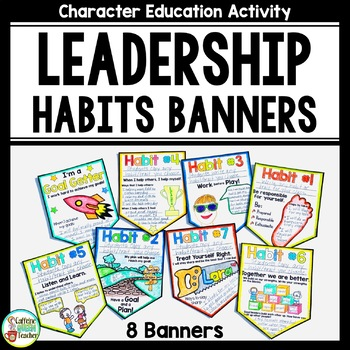 Leadership Habits and Qualities Banners
