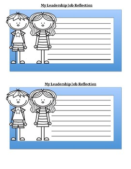 Leadership Job Reflection