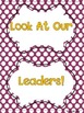 Leadership Jobs for Elementary Classrooms {Purple Dots}