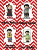 Leadership Jobs for Elementary Classrooms {Red Chevron}