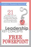 Leadership Key Concepts