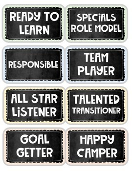 Leadership Lanyards (Brag Tags)