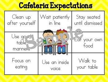 Leader Lotus Diagrams--School Expectations