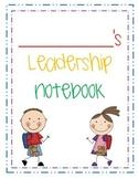 Leadership Notebook Binder Cover