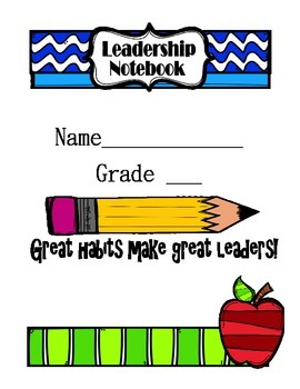 Leadership Notebook Cover
