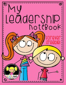 Leadership Notebook Freebie {Data Notebook}