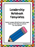 Leadership Notebook for First Grade