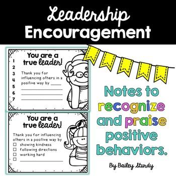 Leadership Notes