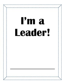 Leadership Packet or Independent Summer Project