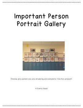 Important Person Portrait Gallery