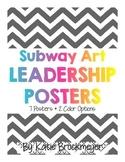 Subway Art Leadership Posters