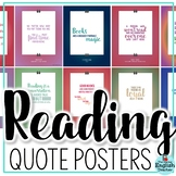 Reading Quote Classroom Posters