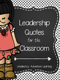 Leadership Quotes Floral & Polka Dot