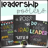 Leadership Quotes- Classroom Posters