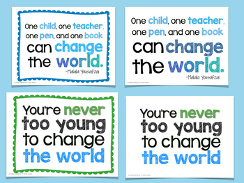 Leadership Quotes Posters #kindnessnation #weholdthesetruths
