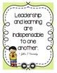 Leadership Quotes Posters - Polka Dots & Melonheadz
