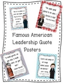 Leadership Quotes by Famous Americans