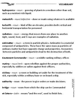 Leadership Reading Comprehension -- Star Trek: TNG