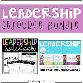 Leadership Resources {Bundle}