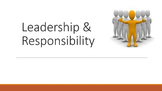 Leadership & Responsibility Lesson