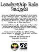 Leadership Role Badges