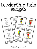 Leadership Role Badges (Color)