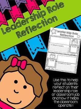 Leadership Role Reflection