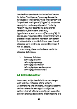 Ace Critical Thinking: Defining for Clear Thinking /2