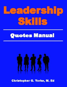 Leadership Skills Quotes Manual