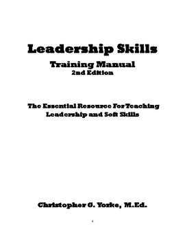Leadership Skills Training Manual