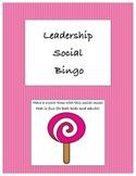 Leadership Social Bingo