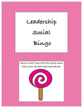 Leadership Social Bingo