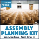 Leadership Student Council Assembly Planning Guide