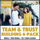 Team Building / Problem Solving  / Trust Building Skills Activity Lesson 6-Pack