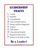 Leadership Traits Poster