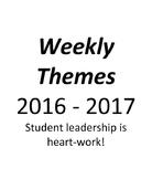 Leadership Weekly Themes