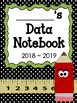 Leadership Data Notebook with Pencil/Book Theme Graphics